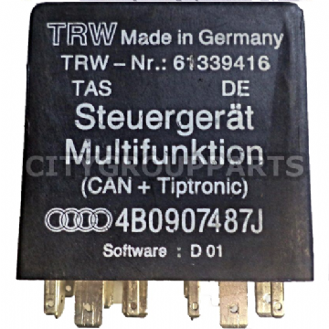 AUDI A6 C5 A8 D2 MODELS  MULTI FUNCTION STEERING WHEEL RELAY 4B0907487J - 619